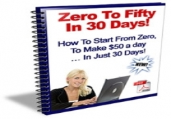 Zero To $50 A Day In 30 Days