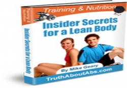 Training And Nutrition Insider Secrets For A Leanbody