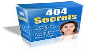 404 Error Page Secrets